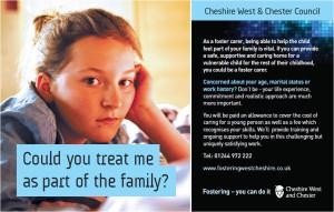 cheshire advert